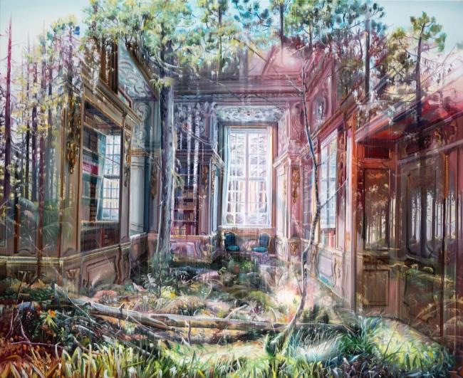Jacob Brostrup. The view, óleo sobre tela – Cortesía de la Galería Contrast