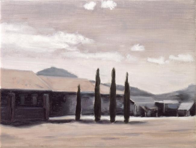 Adzer Van der Molen. High noon, óleo sobre tela – Cortesía de la Galería Contrast