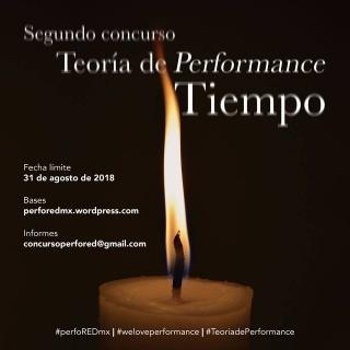 Segundo Concurso Teoría de Performance Tiempo