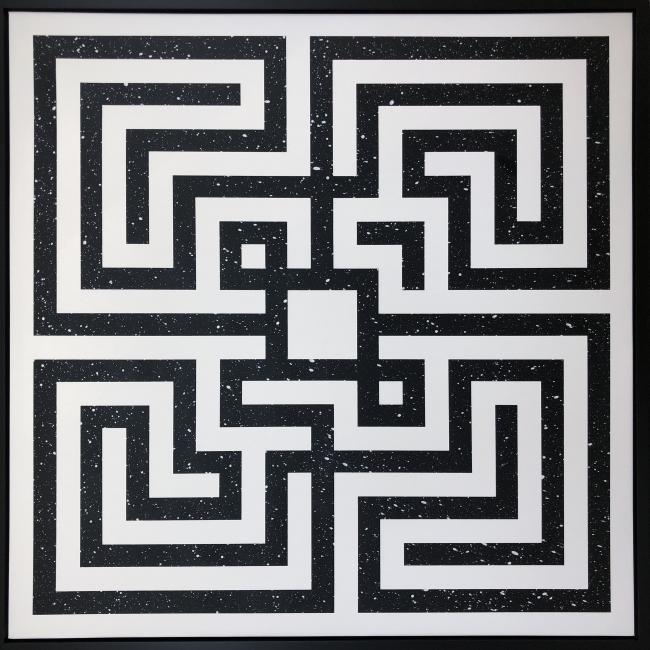 Destination 131, L'Atlas, Cosmic Maze, 2018, courtesy Urvanity Projects
