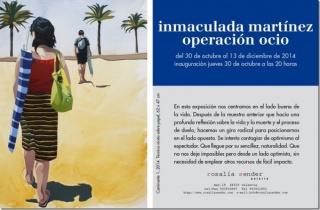 Inmaculada Martínez, Operación ocio
