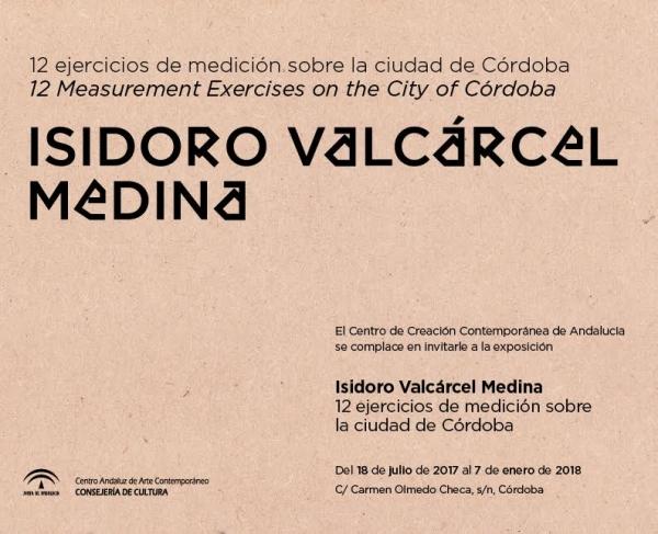 12 ejercicios de medición sobre la ciudad de Córdoba