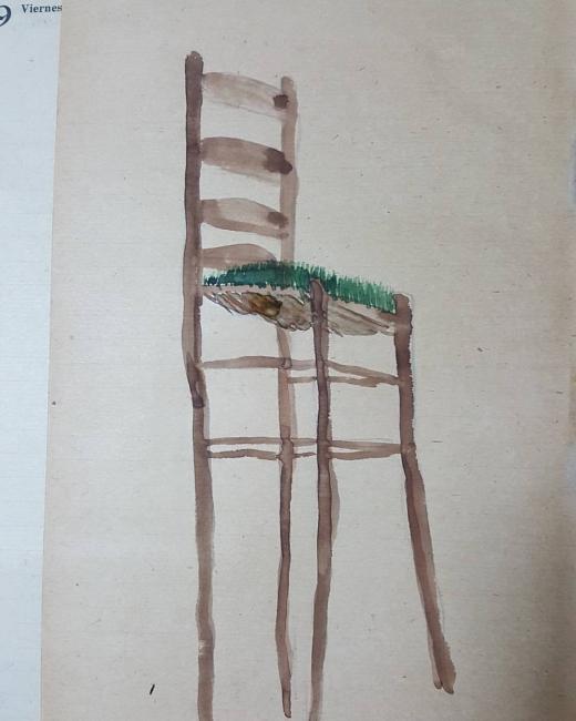 Obra de Manuel Santiago | Ir al evento: 'El niño en el pozo'. Exposición de Arte sonoro, Fotografía, Pintura en Can Monroig - Inca / Inca, Baleares, España