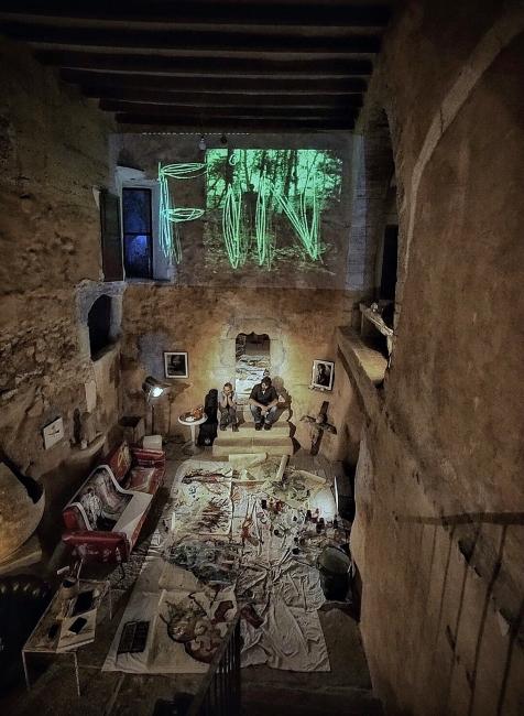 Can Monroig | Ir al evento: 'El niño en el pozo'. Exposición de Arte sonoro, Fotografía, Pintura en Can Monroig - Inca / Inca, Baleares, España