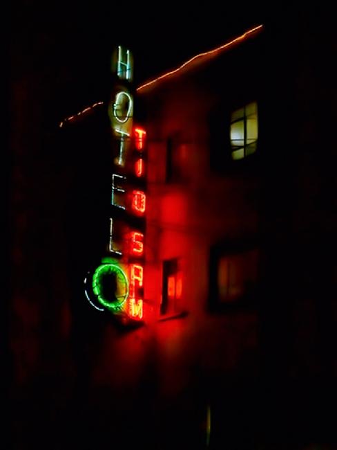 Yolanda Andrade, Hotel Tío Sam, Ciudad de México, 2011 – Cortesía de la artista. FotoMéxico 2017