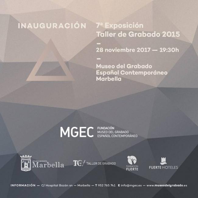 7ª Exposición Taller de Grabado 2015