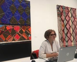 (en) proceso con Teresa Lanceta – Cortesía de la Fundació Per Amor a l'Art