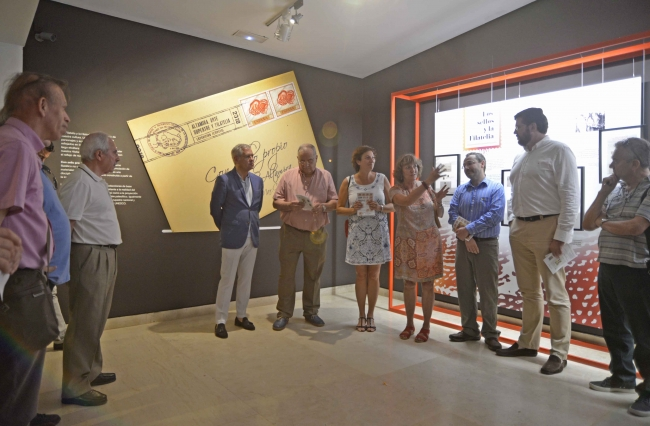 Imagen de la inauguración — Cortesía del Museo Nacional y Centro de Investigación de Altamira