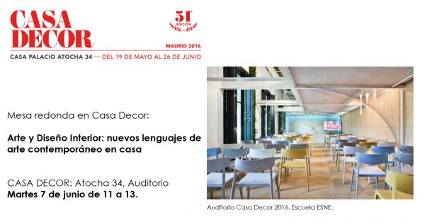 Arte y Diseño Interior: nuevos lenguajes de arte contemporáneo en casa