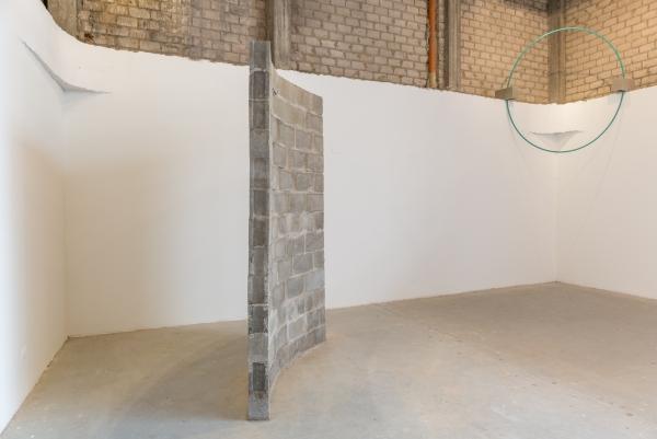 Defecto lineal 1 | Ir al evento: 'Defectos Lineales o Dislocaciones'. Exposición de Escultura, Pintura en Espacio Odeón / Bogotá, Distrito Especial, Colombia