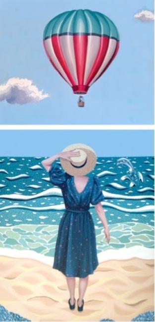 Helena Toraño Caso | Ir al evento: 'Top Secret'. Exposición de Pintura en Gema Llamazares Galería de Arte / Gijón, Asturias, España