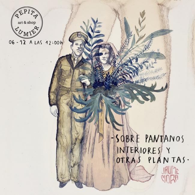Jaume Mora. Sobre pantanos interiores y otras plantas