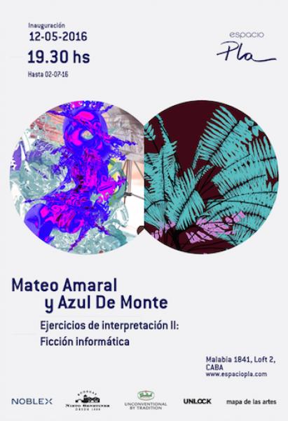 Ejercicios de interpretación II- Ficción informática de Mateo Amaral y Azul De Monte