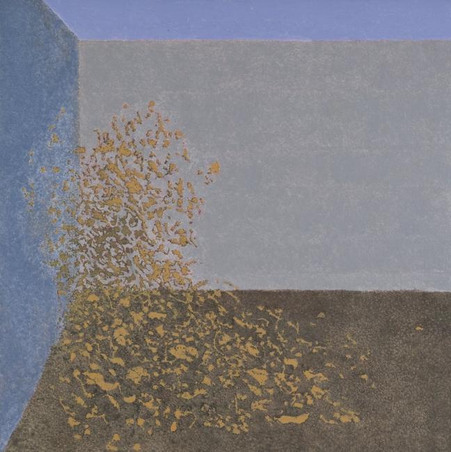 Sergio Sanz, Maria Zambrano.Tres voces. Voz filosófica. Acrílico sobre lienzo, 2016. Fotografía: M.Blanco – Cortesía de la Galería Marlborough