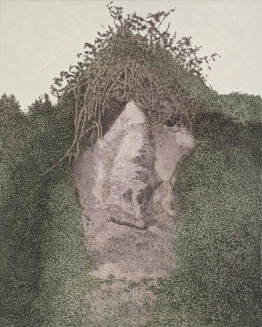 Sergio Sanz, Recuerdo, 2016. Fotografía: M.Blanco – Cortesía de la Galería Marlborough | Ir al evento: 'Lugares'. Exposición de Pintura en Marlborough / Madrid, España