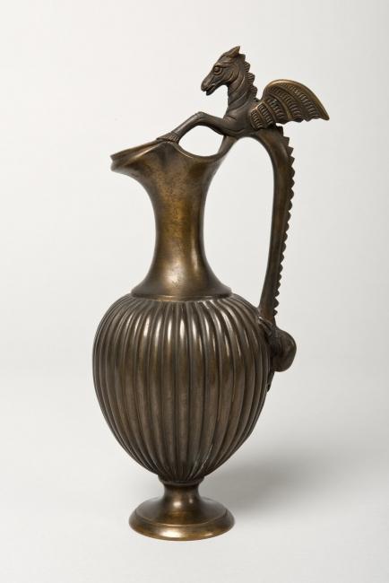 Jaro, Scognamiglio, 1882. Galvanoplastia, 24'5x10'5x9'5 cm.  – Cortesía del Museo Nacional de Escultura