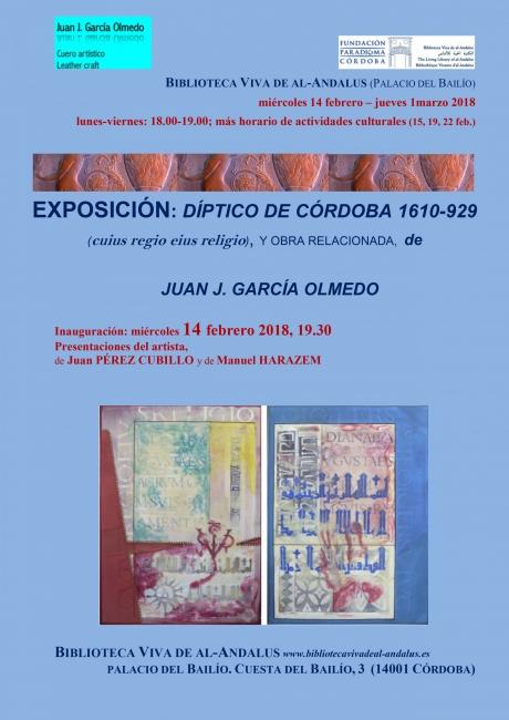 Juan José García Olmedo. Díptico de Córdoba 1610 – 929 (Cuius regio eius religio)