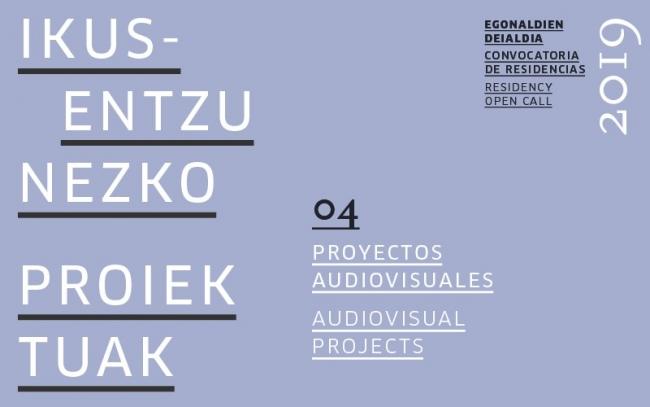 Convocatoria de residencia para el desarrollo de un proyecto audiovisual 2019
