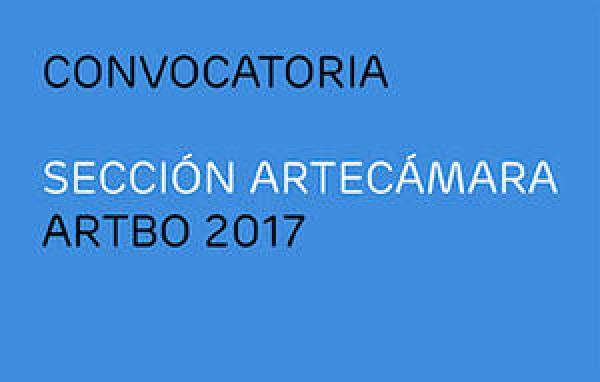 APLICACIÓN PARA PABELLÓN ARTECÁMARA. CONVOCATORIA ARTBO 2017