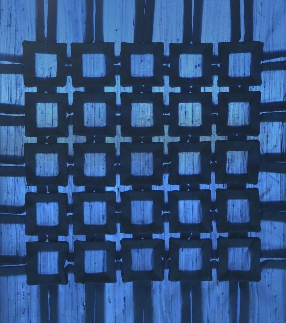 Pierre Louis Geldenhuys. Cuadricula 2 | Ir al evento: 'Elogio de la sombra. Tras la in'eide los shojisorigámicos'. Exposición de Diseño en Fundación Antonio Perez - Centro de Arte Contemporáneo / Cuenca, España