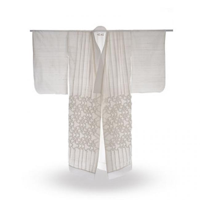 Kimono | Ir al evento: 'Elogio de la sombra. Tras la in'eide los shojisorigámicos'. Exposición de Diseño en Fundación Antonio Perez - Centro de Arte Contemporáneo / Cuenca, España
