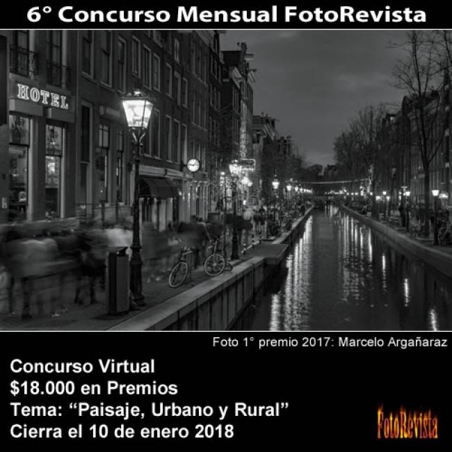 6° CONCURSO MENSUAL FOTOREVISTA. Imagen cortesía FotoRevista