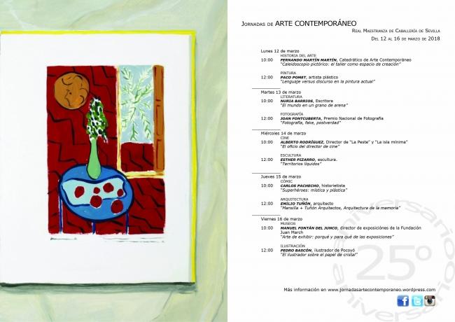 XXV Jornadas de Arte Contemporáneo de la Universidad de Sevilla