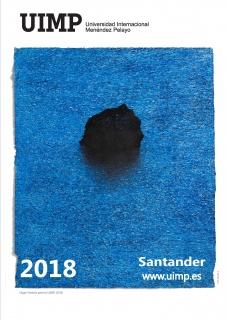 Cartel del artista Hugo Fontela. Cortesía del UIMP