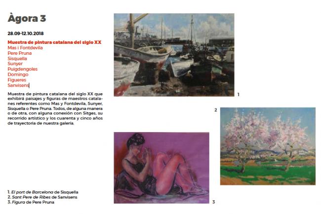 Muestra de pintura catalana del siglo XX