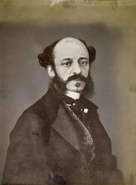 Anónimo, Retrato de Ventura de la Vega, 1859. (Biblioteca Nacional de España)