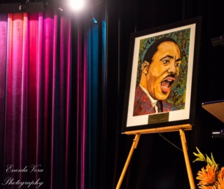 Dr. Martin Luther King Jr. by KIm Prisu ,photo credit Eneida Vera