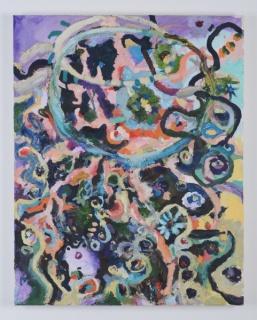 Milena Muzquiz. Untitled, 2017. Óleo sobre lienzo. Cortesía Milena Muzquiz y Travesía Cuatro