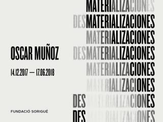 Oscar Muñoz: des/materializaciones