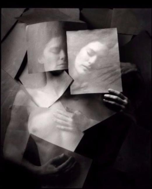 © Jerry Uelsmann. Undiscovered self, 1999 – Cortesía de Blanca Berlín Galería