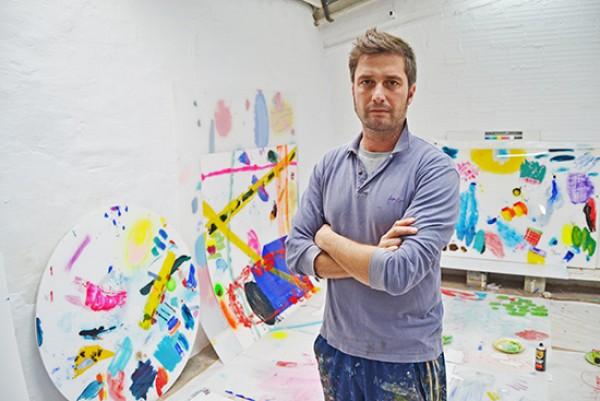 Pablo Lambertos en el estudio