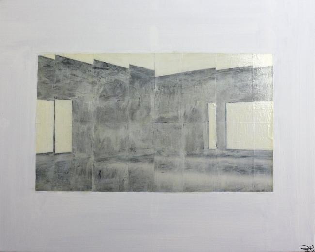 De la serie Reflejos | Ir al evento: 'Adornos'. Exposición de Pintura en Factoría de Arte Santa Rosa / Santiago, Region Metropolitana, Chile