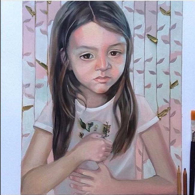 Obra presentada por la artista Granada Arias – Cortesía de Mecenas 2.0