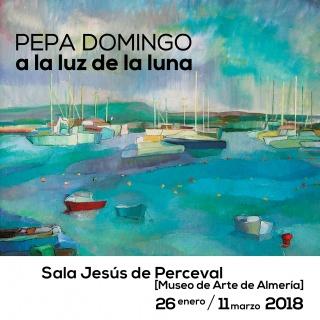 Pepa Domingo. A la Luz de la Luna