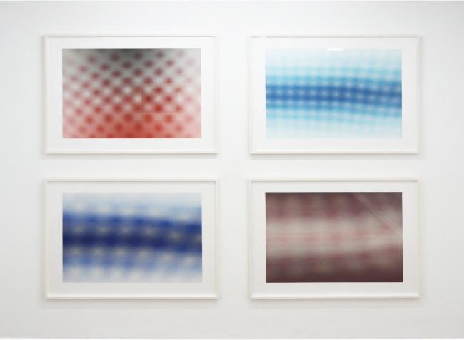 ANISH KAPOOR, Moiré, 2015, aguafuerte. 72 x 96 cm c/u — Cortesía de la Galería La Caja Negra
