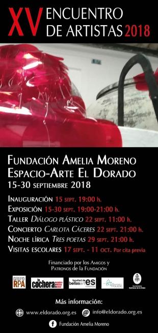 XV Encuentro de Artistas. Imagen cortesía Fundación Amelia Moreno / Espacio-Arte El Dorado