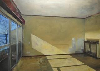 Carlos Sagrera, Salón anunciado Acrylic on canvas 120x170cm. 2014 Courtesy Kir Royal Gallery