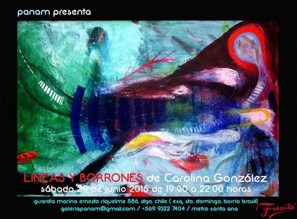 Carolina González, Líneas y borrones