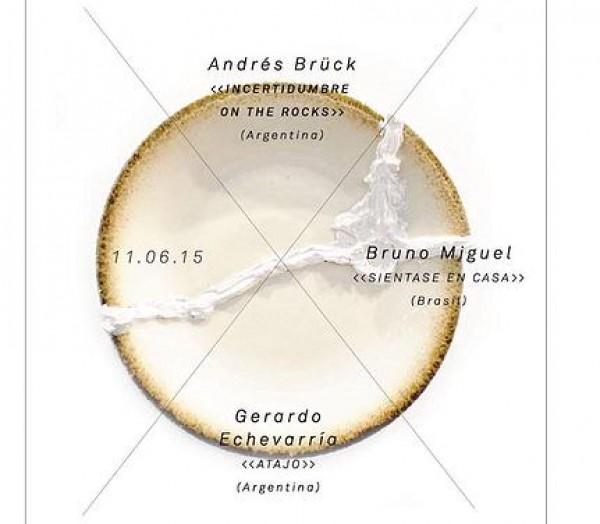 Andrés Brück, Gerardo Echevarría y Bruno Miguel