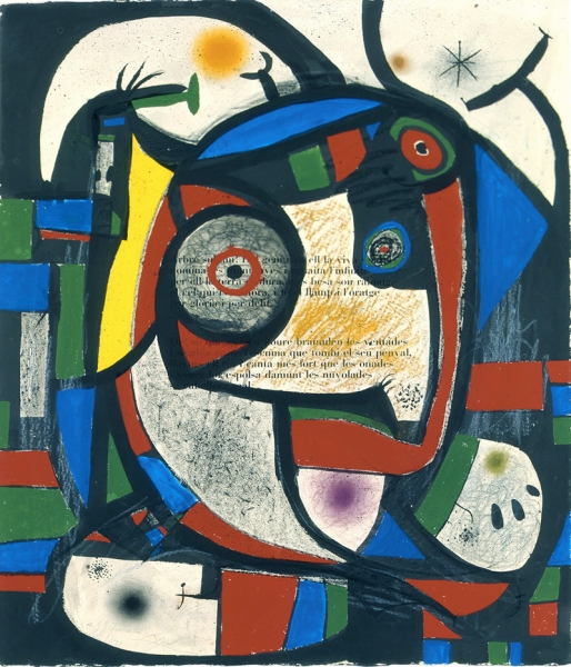 Composition, 1976 | © ADAGP, Successió Miró, Courtesy Galerie Lelong Paris