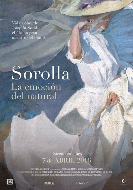Sorolla. La emoción del natural | Ir al evento: 'Los lunes de arte'. Ciclo de cine de Cine en Palacio de la Prensa / Madrid, España