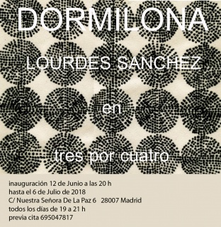 Lourdes Sánchez. Dormilona
