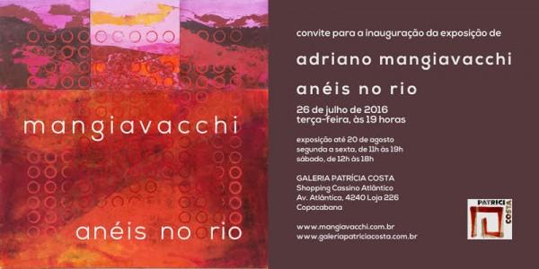Adriano Mangiavacchi, Anéis no rio