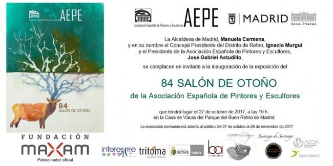 84 Salón de Otoño de la Asociación Española de Pintores y Escultores