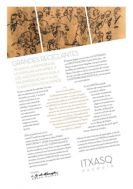 Homenaje Picasso · Maeztu – Interpretación de Itxaso Razquin