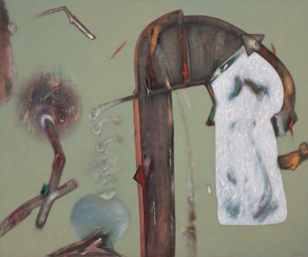 Benito Marcos Crehuet, El vacío interior esta? de moda, 2012 | Ir al evento: 'Benito Marcos Crehuet'. Exposición de Pintura en Espacio Ronda / Madrid, España